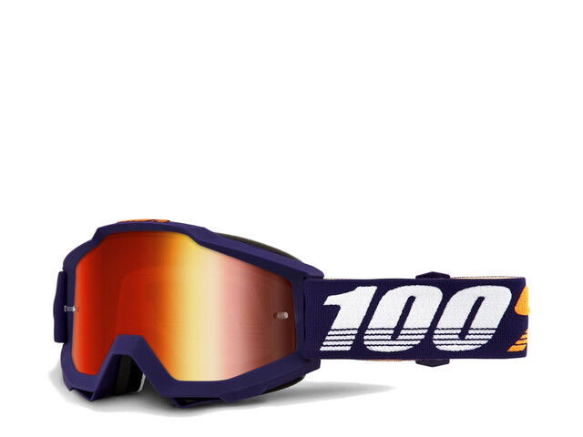 100% Accuri Anti Fog Mirror Goggles grib